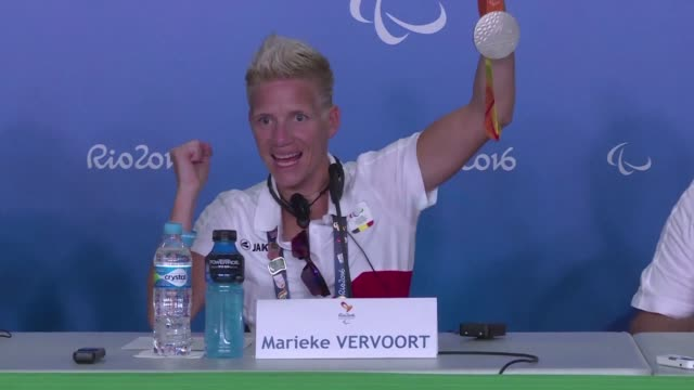 belgian paralympic wheelchair sprinter marieke vervoort on sunday defended her decision to undergo euthanasia but said she is not ready to die yet... - euthanasia stock videos & royalty-free footage