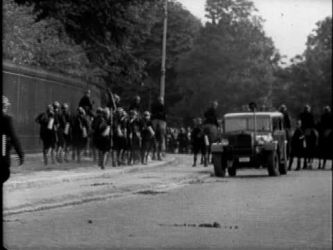 belgian political crisis surrounding the return and eventual abdication of king leopold iii july 1951 / king of belgium leopold iii exiting royal... - abdication stock videos and b-roll footage