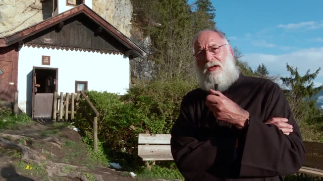 Belgianborn Stan Vanuytrecht has become one of Europe's last hermits after being chosen from among 50 applicants to take up residence in a spartan...