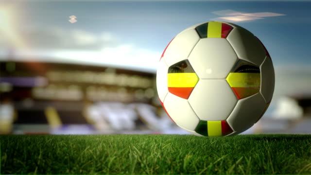 vidéos et rushes de belgique ball prenez stadium-bouclables - belgique