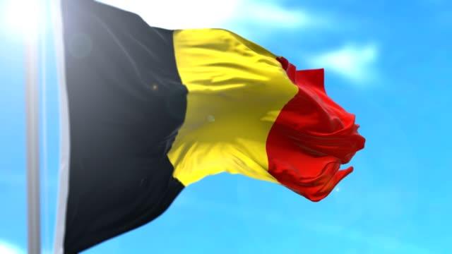 vídeos y material grabado en eventos de stock de bandera belga - afganistán