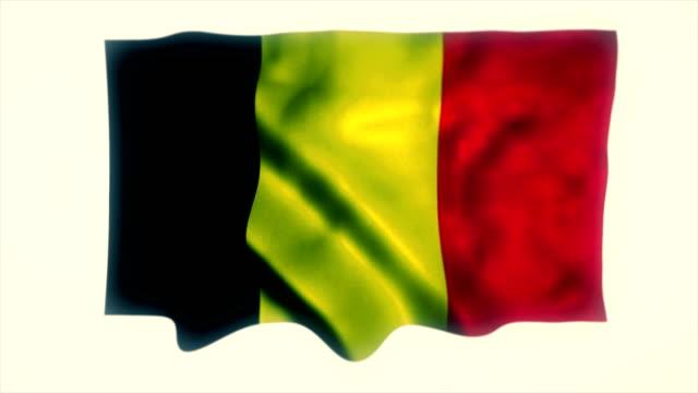 belgium flag - capital region stock videos and b-roll footage