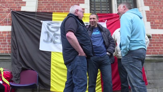 belgium has taken the unprecedented step of mobilising the army to fill in for prison staff after two weeks of strikes over staffing levels at 17... - capital region stock videos & royalty-free footage