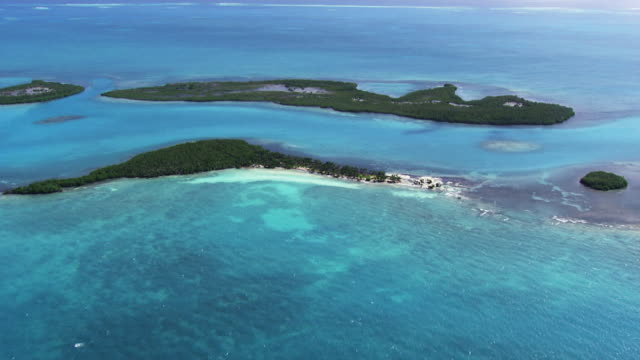 belize: caribbean islands - caribbean sea stock videos & royalty-free footage
