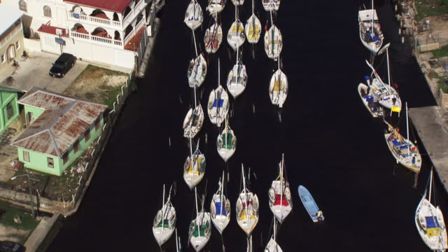 Belize: Close up on boats in Belize City