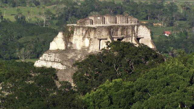 belize:  xunantunich maya temple - mayan stock videos and b-roll footage