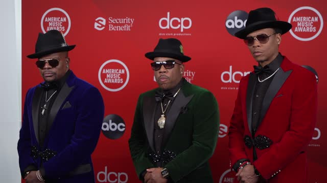 bell biv devoe at the 2020 american music awards at the microsoft theater on november 22, 2020 in los angeles, california. - microsoft theater los angeles stock videos & royalty-free footage