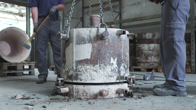 bell foundry, bell - moulding trim stock videos & royalty-free footage