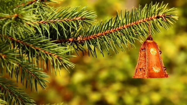 ベルのクリスマスツリー - ベル点の映像素材/bロール
