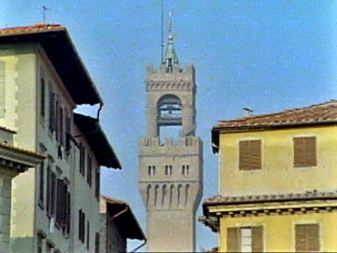 bell tower in florence, italy - florence stock videos and b-roll footage