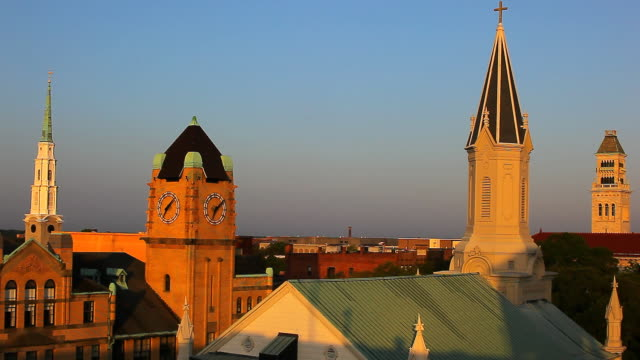 Bell towers of Savannah