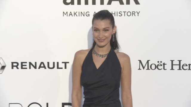 Bella Hadid at amfAR's 23rd Cinema Against AIDS Gala Arrivals at Hotel du CapEdenRoc on May 19 2016 in Cap d'Antibes France