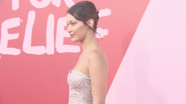 bella hadid at fashion for relief at on may 20 2017 in cannes france - bella hadid stock videos & royalty-free footage