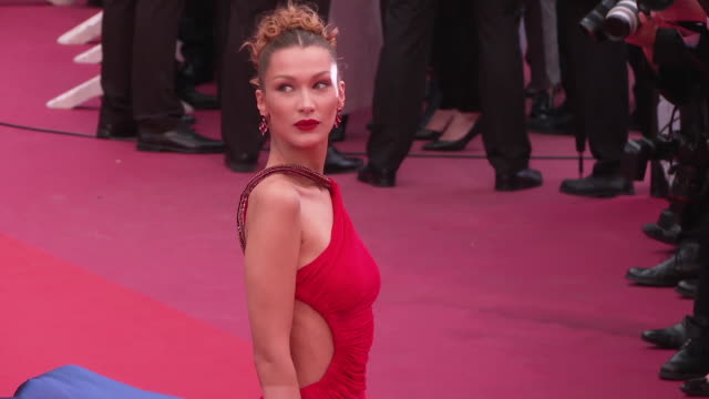Bella Hadid at GIF The 72nd Cannes Film Festival on May 14 2019 in Cannes France