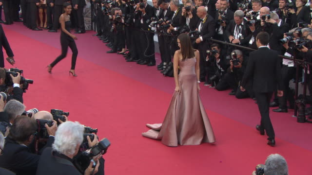 bella hadid at les eternelles' red carpet arrivals the 71st annual cannes film festival on may 11 2018 in cannes france - bella hadid stock videos & royalty-free footage