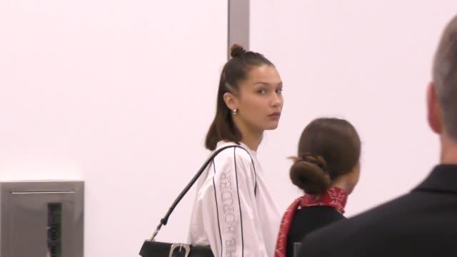 Bella Hadid departing at LAX Airport in Los Angeles in Celebrity Sightings in Los Angeles