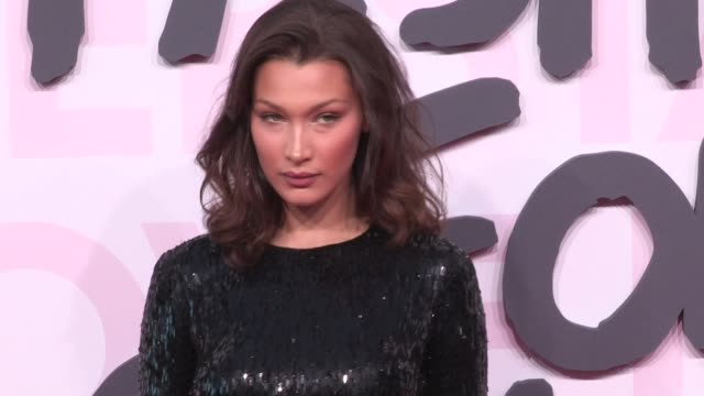 bella hadid on the red carpet of fashion for relief in cannes cannes france on sunday may 13 2018 - bella hadid stock videos & royalty-free footage