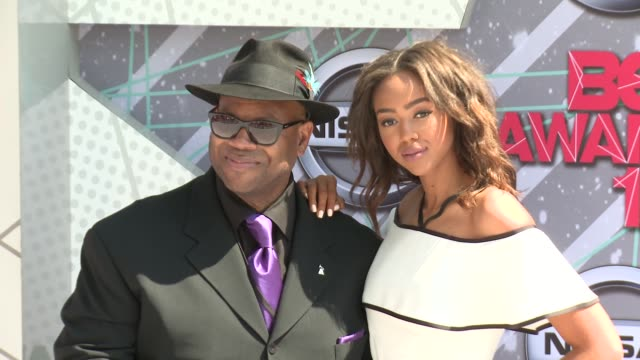 Bella Harris Jimmy Jam at 2016 BET Awards in Los Angeles CA