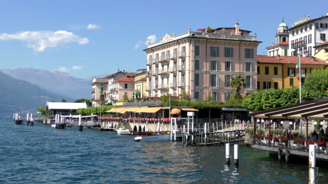 bellagio - lake como, italy - italy stock videos & royalty-free footage