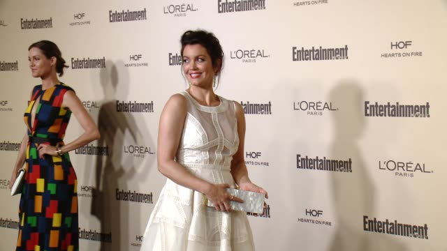 bellamy young at entertainment weekly's preemmy celebration at fig olive melrose place on september 18 2015 in west hollywood california - entertainment weekly stock videos and b-roll footage