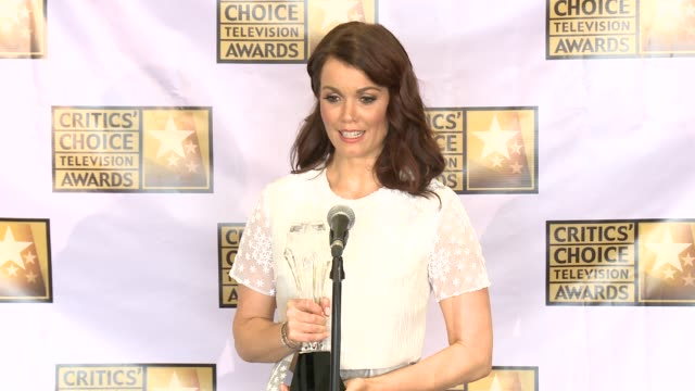 bellamy young at the 2014 critics' choice television awards at the beverly hilton hotel on june 19, 2014 in beverly hills, california. - the beverly hilton hotel stock videos & royalty-free footage