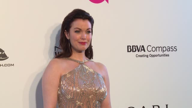 vídeos de stock, filmes e b-roll de bellamy young at the elton john aids foundation presents the 26th annual academy awards viewing party on march 04 2018 in west hollywood california - 2018
