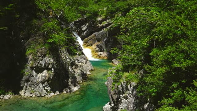 vídeos y material grabado en eventos de stock de bellos river, añisclo canyon, ordesa y monte perdido national park - comunidad autónoma de aragón