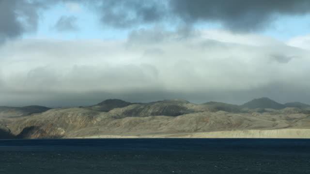 bellot strait along northwest passage - northwest passage stock videos and b-roll footage