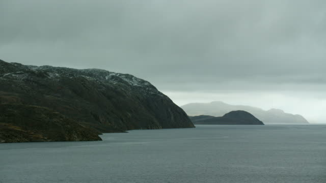 bellot strait and somerset island coast - northwest passage stock videos and b-roll footage