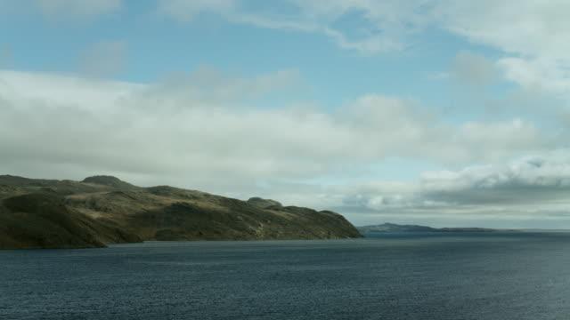 bellot strait on northwest passage route - northwest passage stock videos and b-roll footage