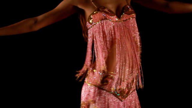 belly dancing - belly button stock videos and b-roll footage