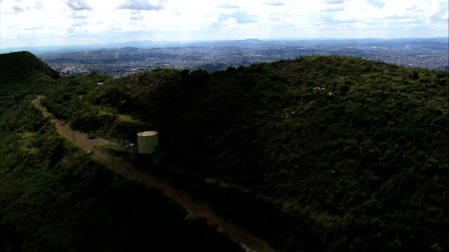 belo horizonte in wide shots  - aerial view - minas gerais, belo horizonte, brazil - belo horizonte stock videos and b-roll footage