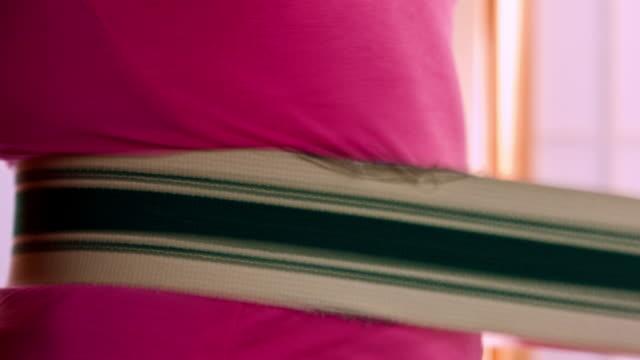 belt massager - massager stock videos and b-roll footage