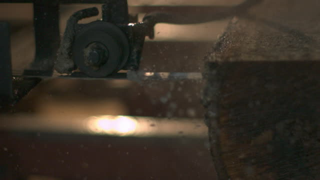 belt saw - phantom miro - sawdust stock videos and b-roll footage