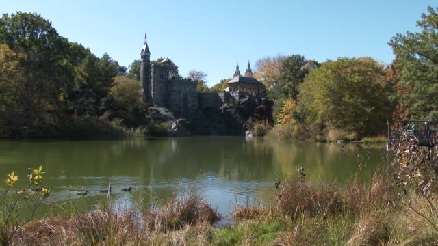 Belvedere Castle / Turtle Pond - Central Park NYC In Autumn
