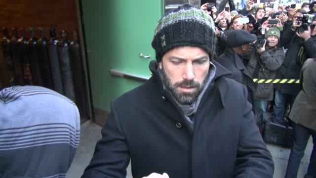 ben affleck and tony mendez at the 'good morning america' studio ben affleck and tony mendez at the 'good morning a on january 08 2013 in new york... - ben affleck stock videos and b-roll footage