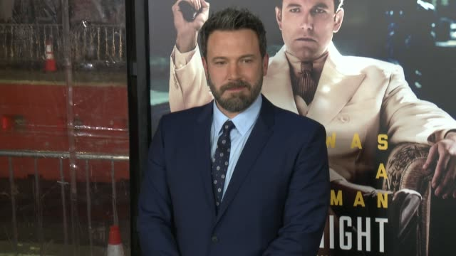 ben affleck at live by night los angeles premiere in los angeles ca - ben affleck stock videos & royalty-free footage