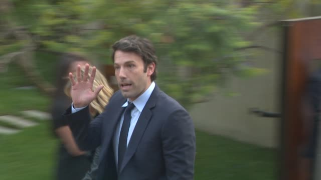 ben affleck at the 10th annual chrysalis butterfly ball at los angeles ca - ben affleck stock videos and b-roll footage