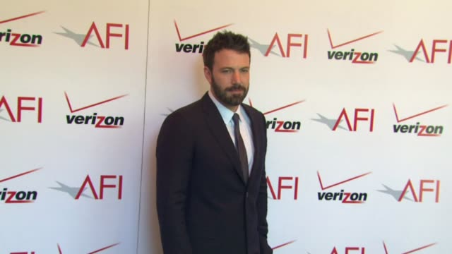 ben affleck at the 13th annual afi awards luncheon in beverly hills ca on 1/11/13 - ben affleck stock videos and b-roll footage