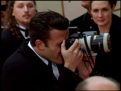 ben affleck at the 1998 golden globe awards at the beverly hilton in beverly hills california on january 18 1998 - ben affleck stock videos and b-roll footage
