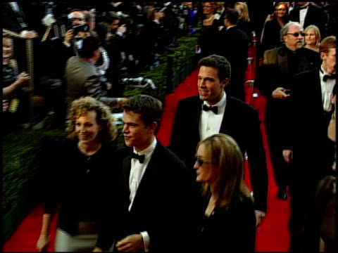 ben affleck at the 1999 academy awards at the shrine auditorium in los angeles california on march 21 1999 - ben affleck stock videos & royalty-free footage