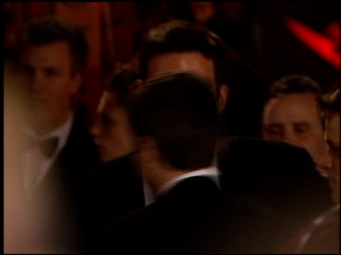ben affleck at the 1999 academy awards vanity fair party at morton's in west hollywood california on march 21 1999 - ben affleck stock videos and b-roll footage