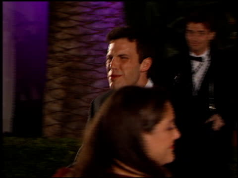 Ben Affleck at the 1999 Academy Awards Vanity Fair Party at Morton's in West Hollywood California on March 21 1999