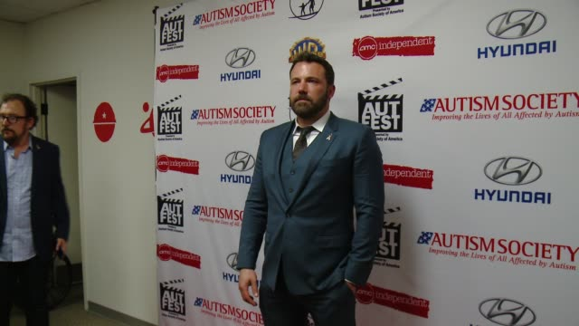 ben affleck at the 1st annual autfest international film festival on april 23 2017 in orange california - ben affleck stock videos & royalty-free footage