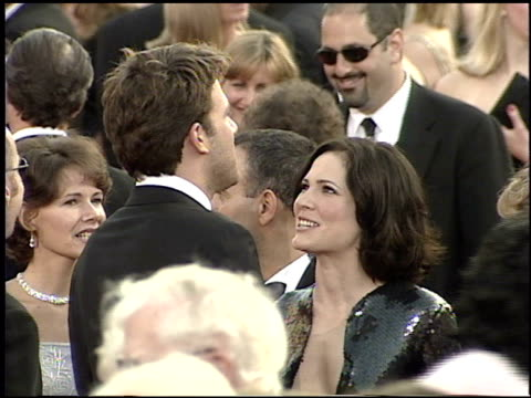 ben affleck at the 2001 academy awards at the shrine auditorium in los angeles california on march 25 2001 - 73rd annual academy awards stock videos & royalty-free footage