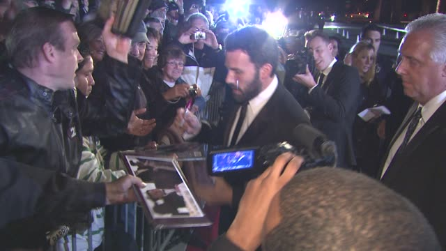 ben affleck at the 22nd annual palm springs international film festival awards gala at palm springs ca - ben affleck stock videos & royalty-free footage