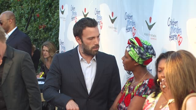 ben affleck at the children mending hearts gala at los angeles ca - ben affleck stock videos and b-roll footage
