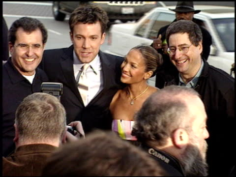 ben affleck at the 'daredevil' premiere on february 9 2003 - ben affleck stock videos & royalty-free footage