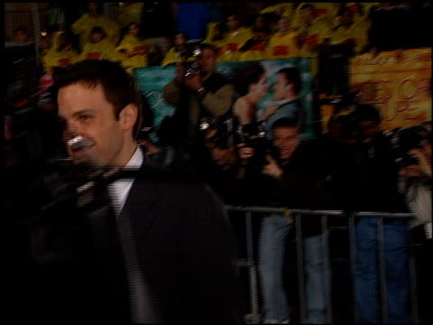 ben affleck at the 'forces of nature' premiere at the mann village theatre in westwood california on march 12 1999 - ben affleck stock videos and b-roll footage