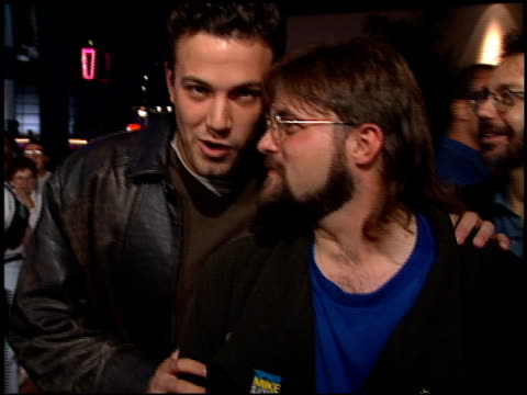 ben affleck at the 'mall rats' premiere on october 17 1995 - ben affleck stock videos and b-roll footage